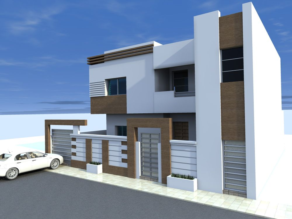 Plan maison tunisie plan maison et appartement de 130 150 for Plan maison tunisie