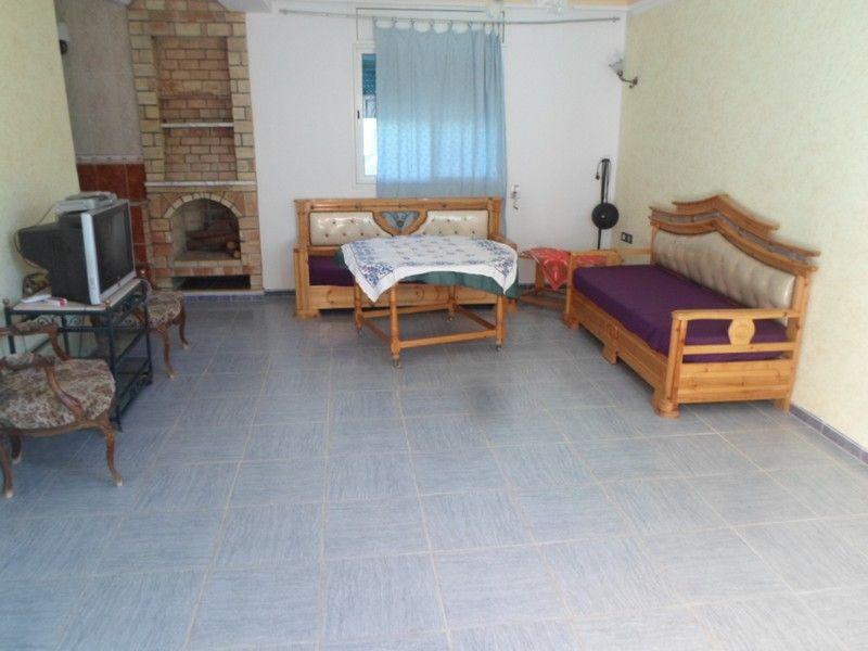 Grand duplex bien meubl sise hammamet nord location for Location maison meuble