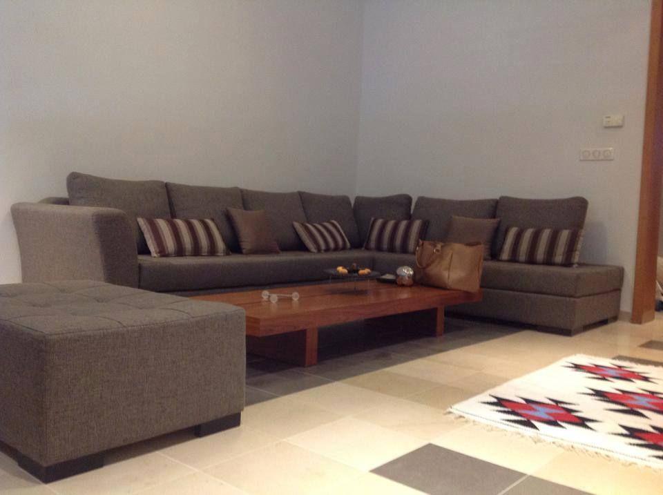 S 2 soigneusement meubl route de la marsa location for Salon 5 etoiles tunisie