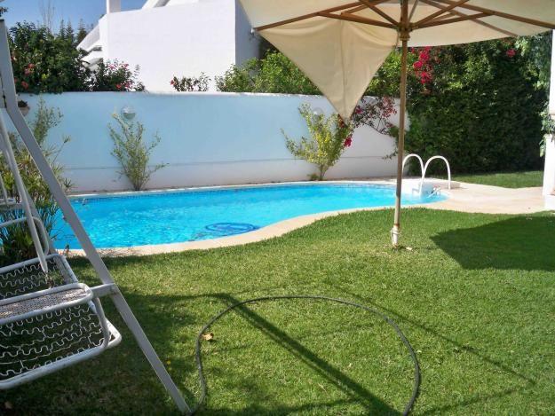 Villa avec piscine a jinene hammamet location maison - Location villa hammamet avec piscine ...
