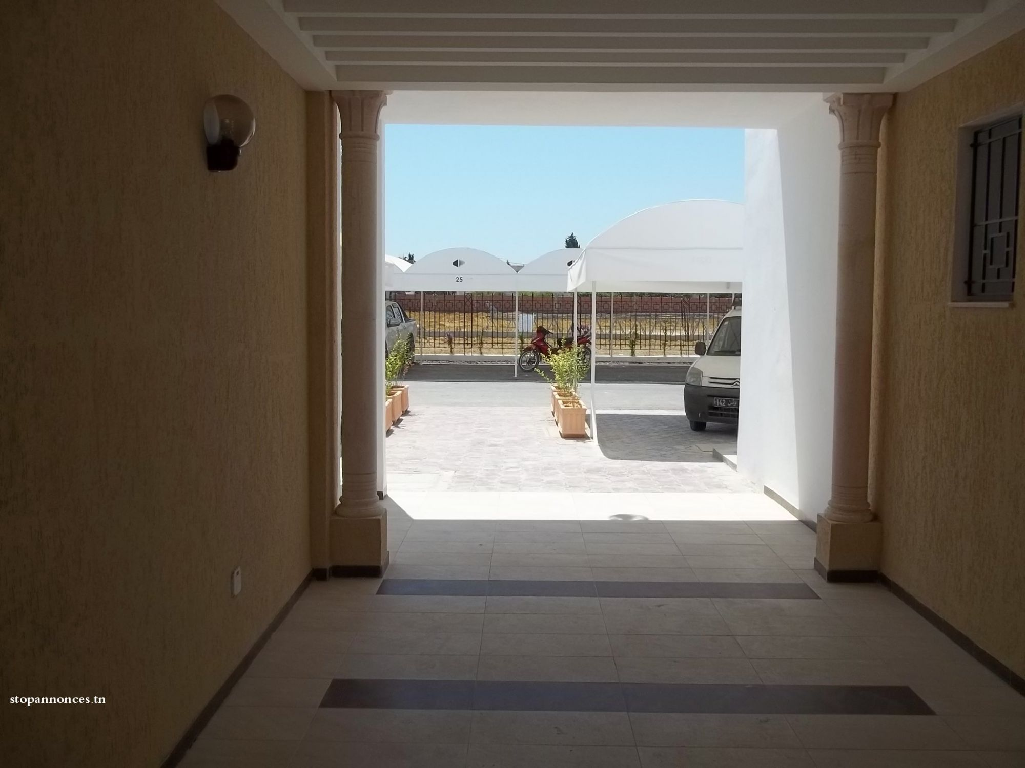 Projet neuf la soukra vente appartement dar fadhal for Projet appartement neuf