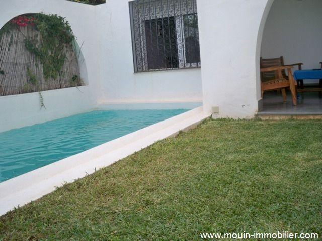Dar arabesque villa avec piscine au style arabe location - Location villa hammamet avec piscine ...