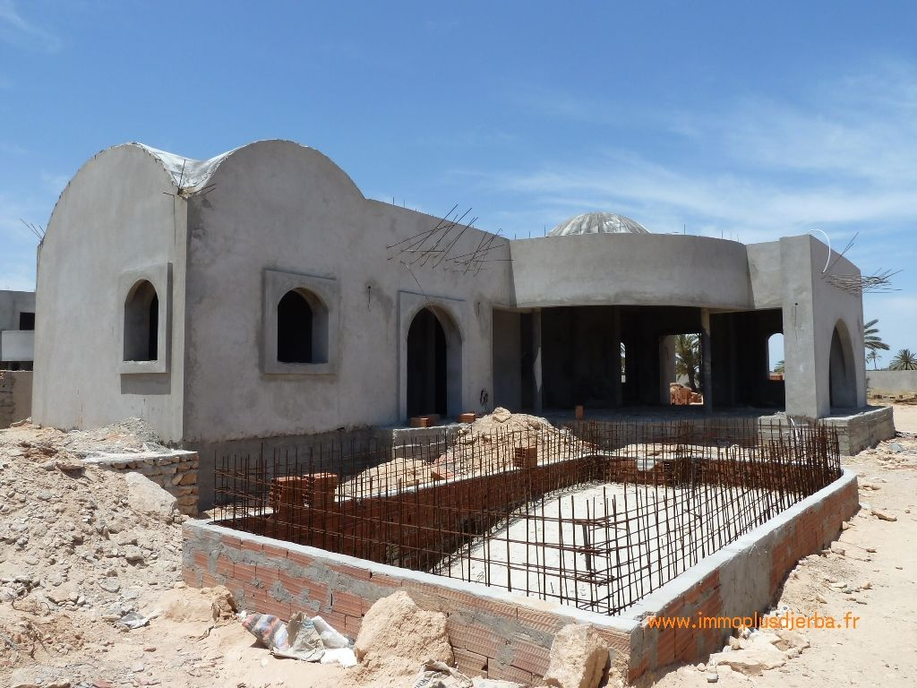 Vente djerba tunisie maison neuve avec piscine vente for Vente de maison neuve