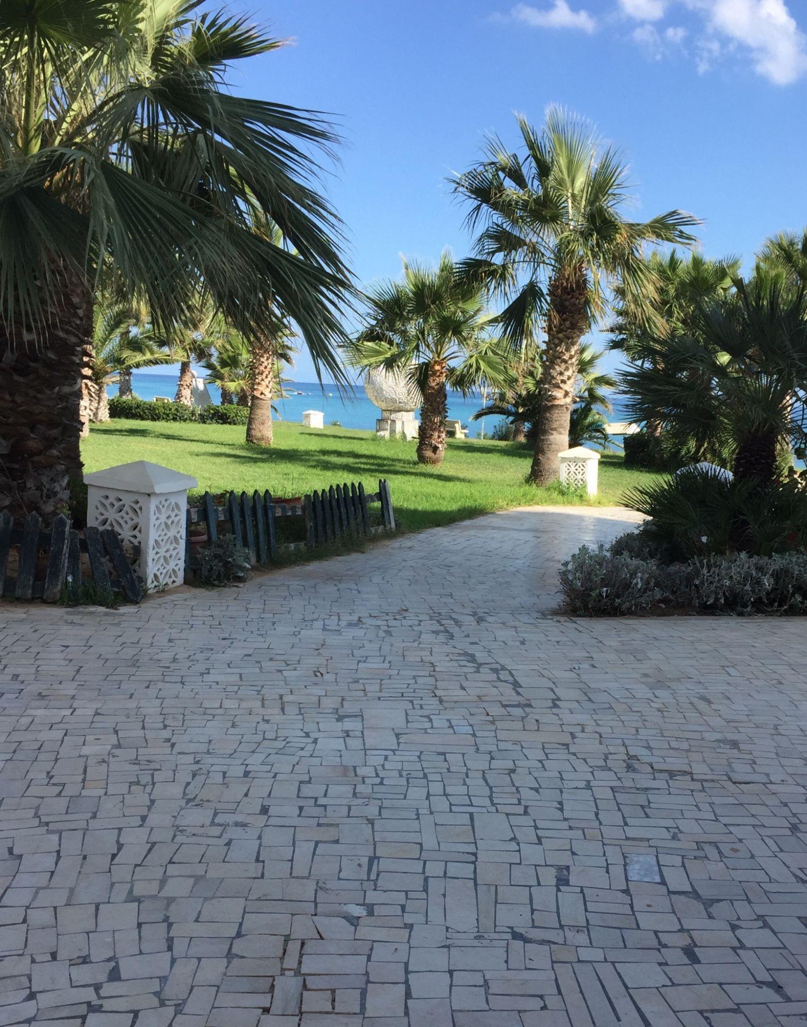 Jardin sur la plage