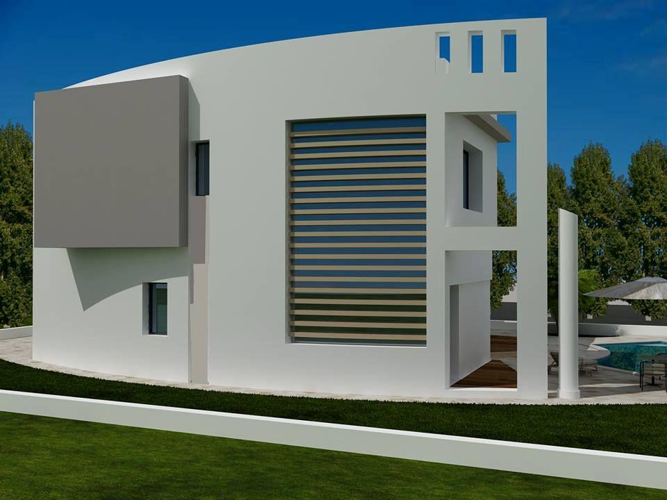 Vente une moderne villa craxi hammamet sud vente villa hammamet - Architecture petite villa moderne ...