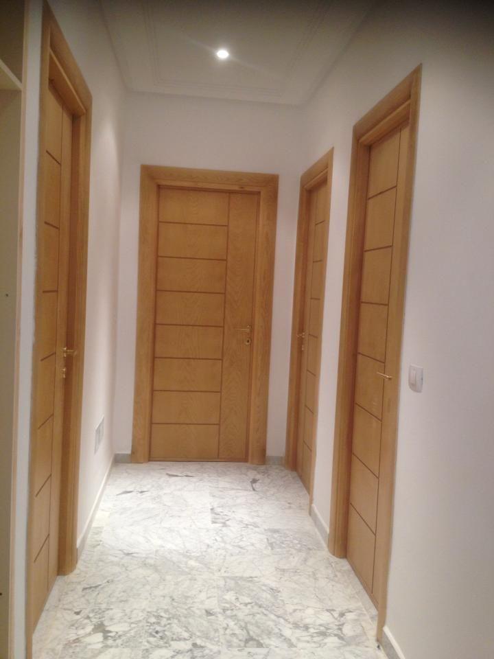 Appartements haut standing residence les emeraudes vente for Porte exterieur bois tunisie
