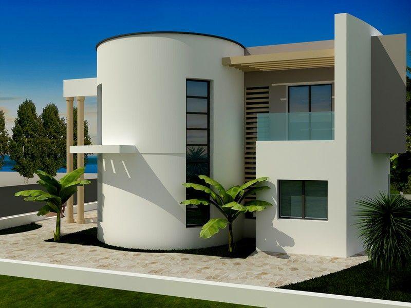 Av belle villa moderne et imposante hammamet vente for Architecture de maison moderne en tunisie