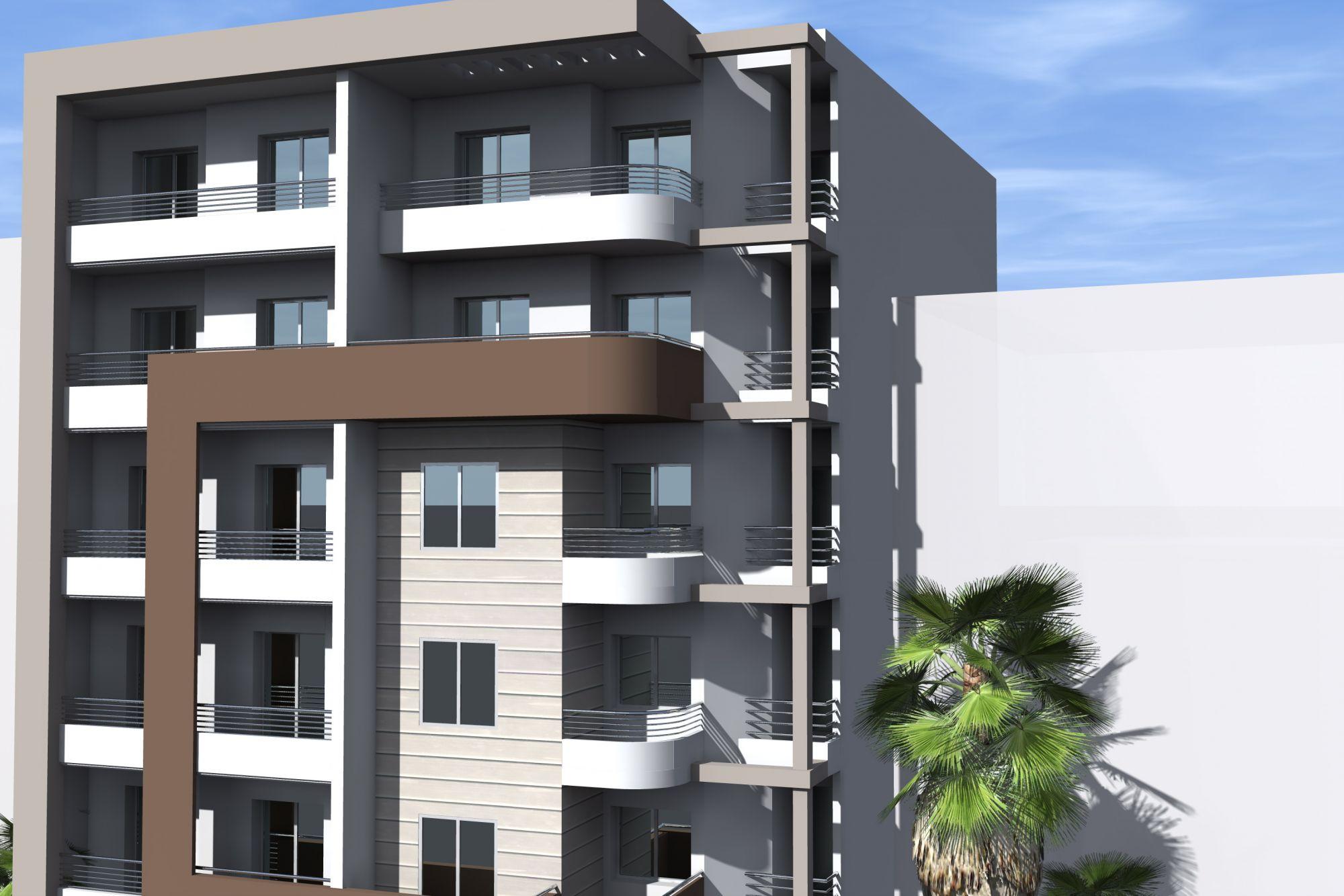 Residence emna sfax sakiet ezzit appartements de haut - Residence de haut standing courchevel baltoro ...