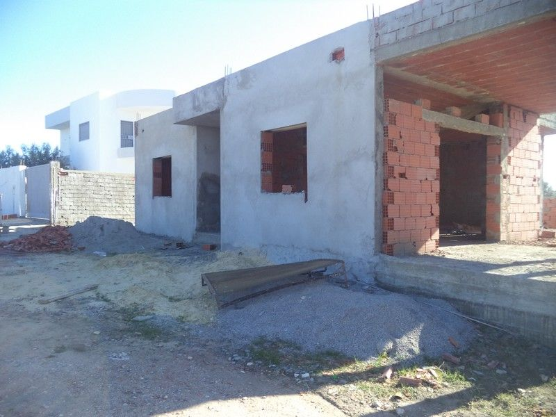 Maison de 300m² non fini à hammamet sud