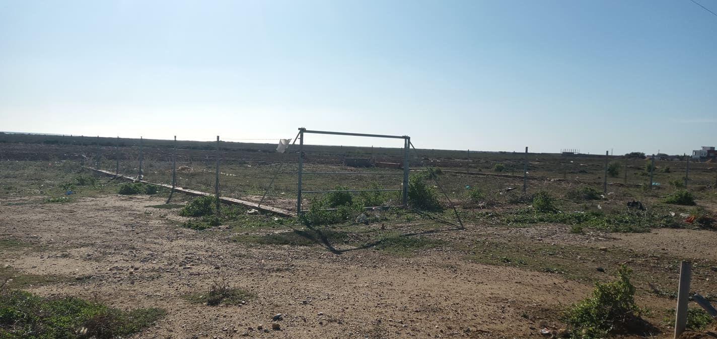 Hammamet sud sur la route g bouficha terrain 500m