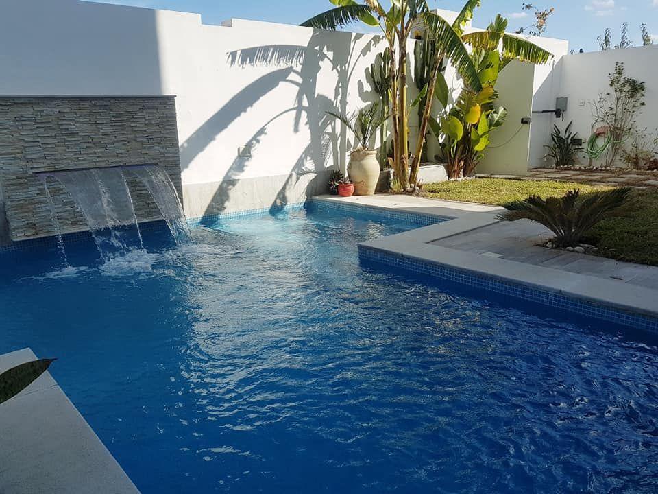 Villa les colombes avec piscine à hammamet nord