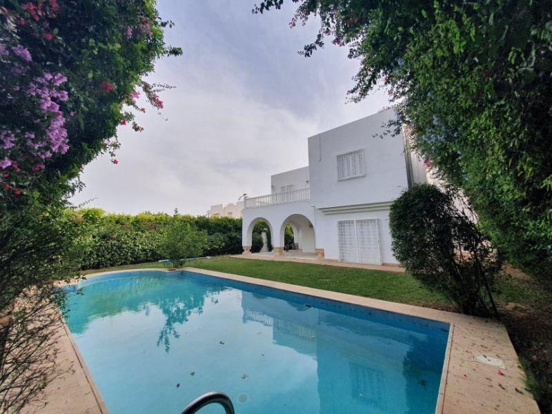 Villa moon réf:location estivale villa avec piscine