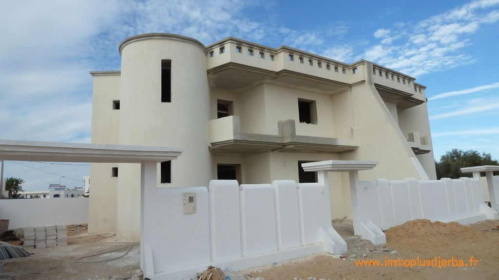 Vente construction djerba maison neuve livr e finie for Budget construction maison tunisie