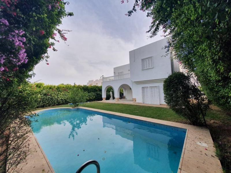 Villa moon réf: villa à hammamet nord