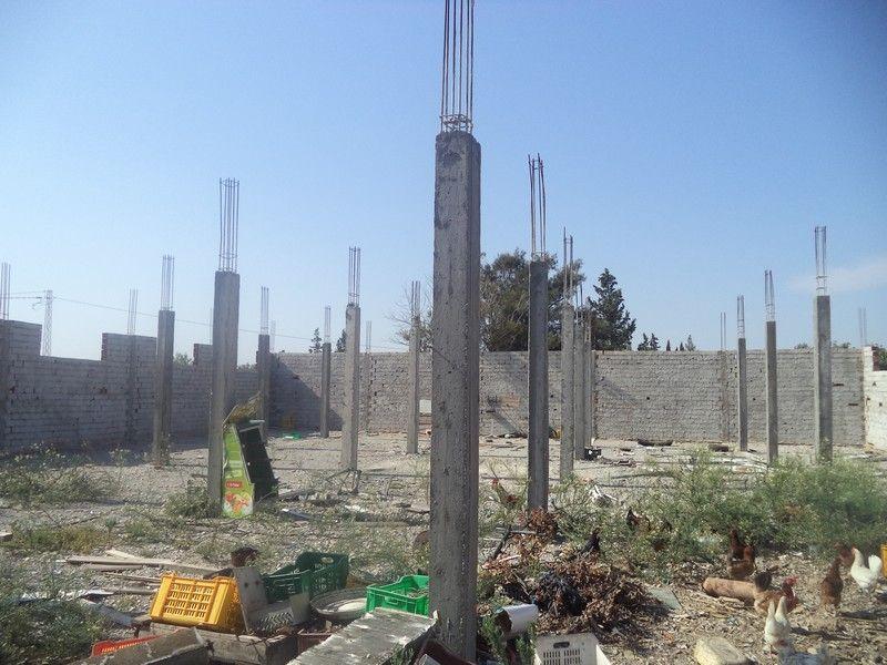 Terrain de 500m² clôturé à hammamet sud