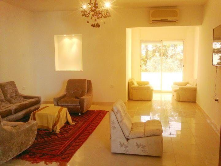 شقة مفروشة فاخرة في سكرة تونس