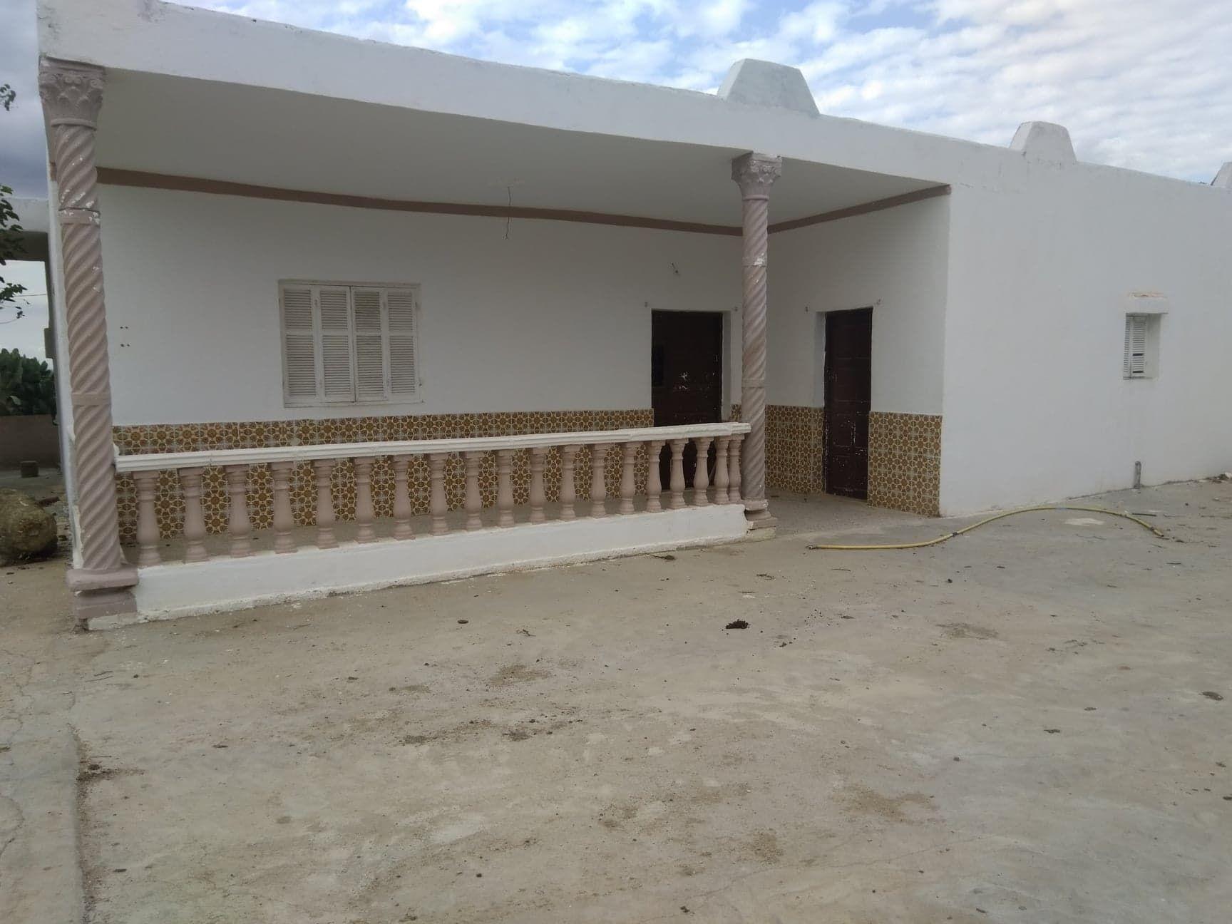 A vendre une maison avec terrain