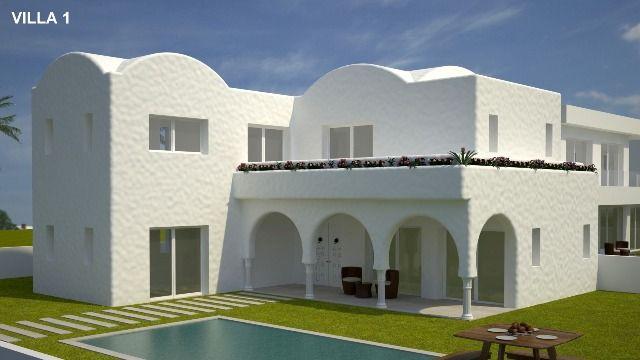 Villa jupiter 1 i 1 hammamet zone theatre a