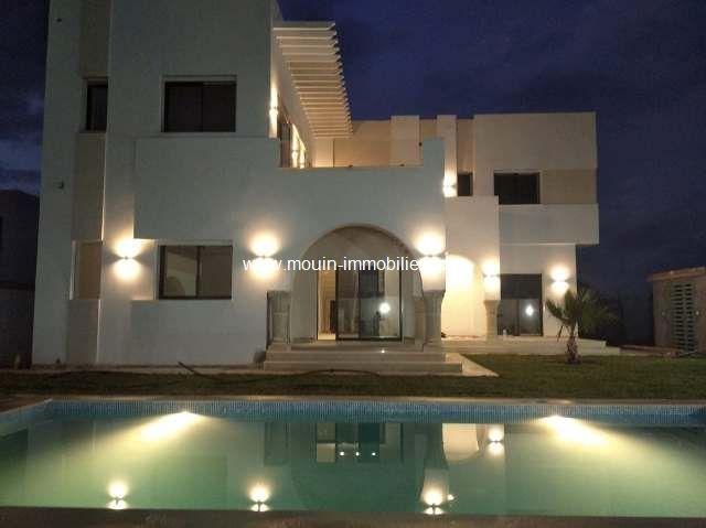 Villa joudy 1 i hammamet el monchar a