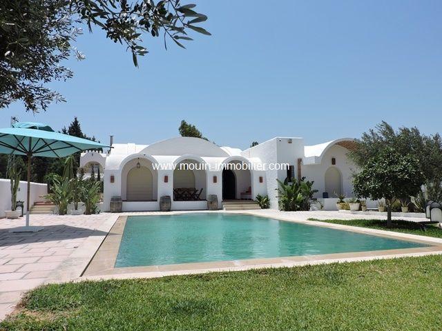 Villa chahrazed al à hammamet dans les vergers