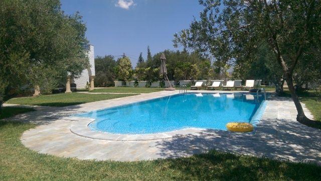 Villa chahrazed réf:vente villa avec piscine hammamet