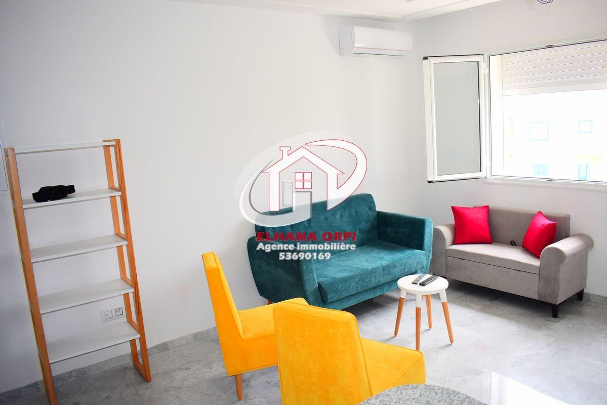 Appartement s+1 neuf a louer en plein zone touristique baghdedi