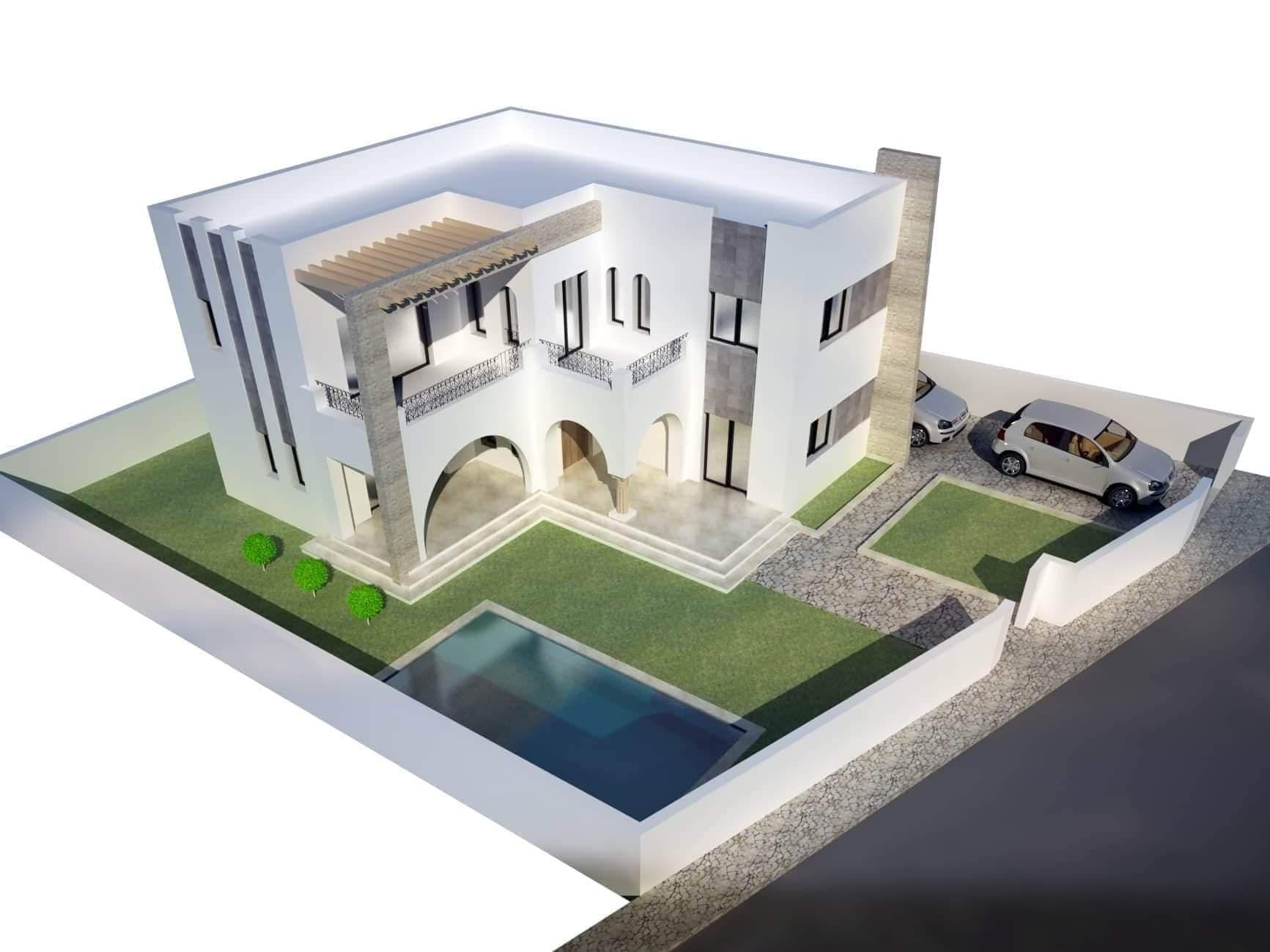 Villa brunella 2 réf:  sidi hammed hammamet