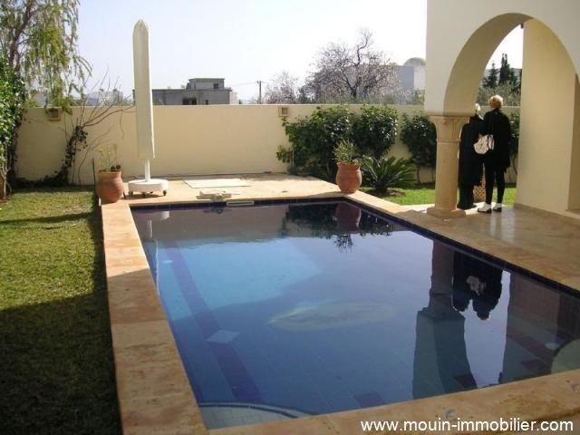 Villa warda al hammamet nord zone touristique