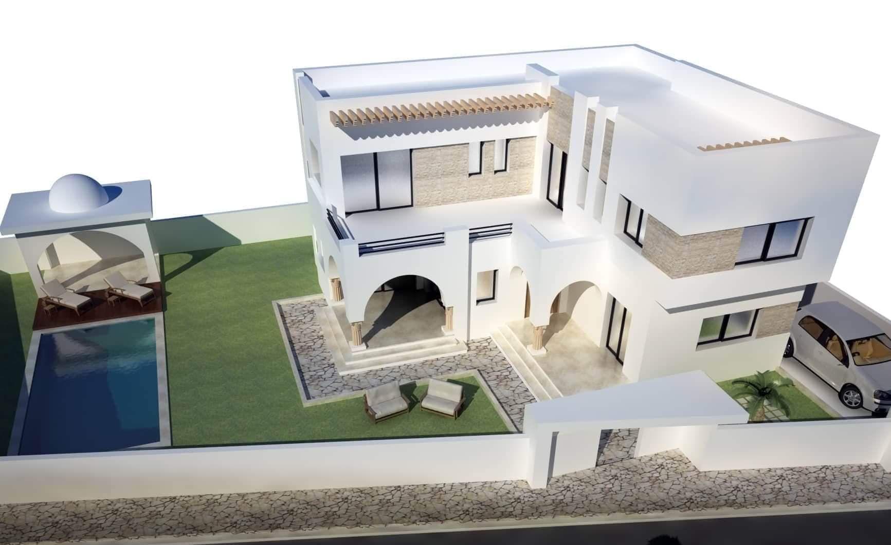 Villa brunella 1 réf hammamet