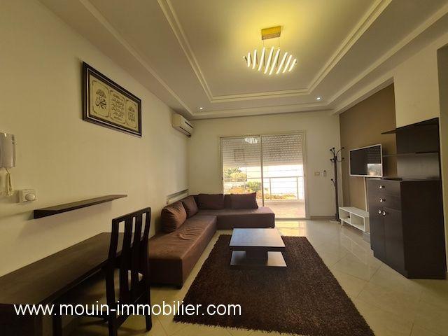 Appartement rawand ec hammamet zone theatre a