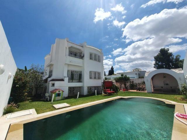 Villa papillonsréf:  villa avec piscine à jinen hammamet