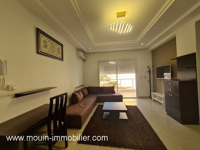Appartement rawand iie hammamet  zone theatre a
