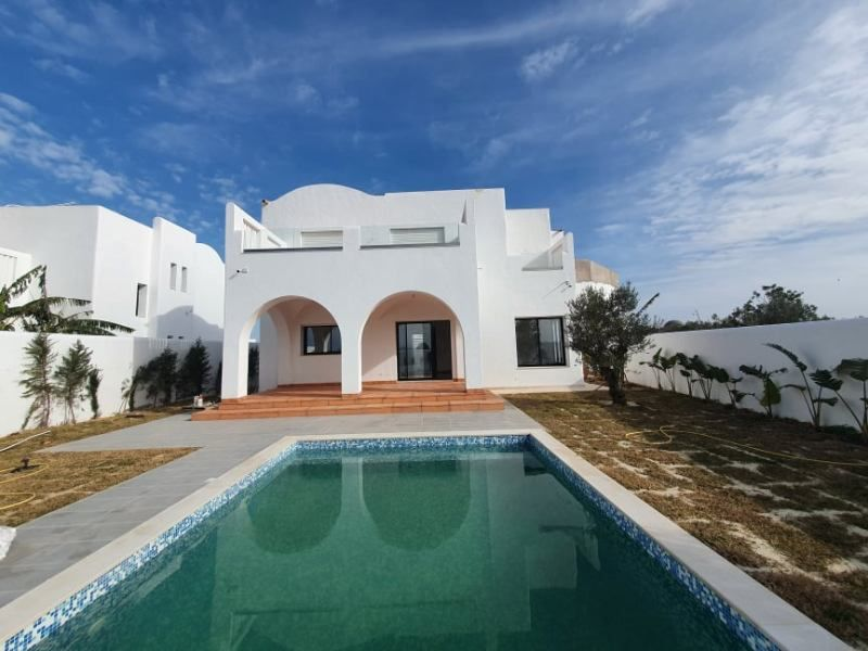 Villa rotin 2 réference villa avec piscine hammamet