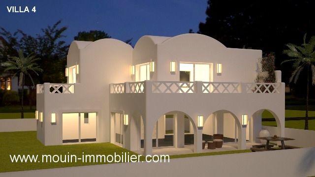 Villa jupiter 4 abd hammamet  zone theatre a
