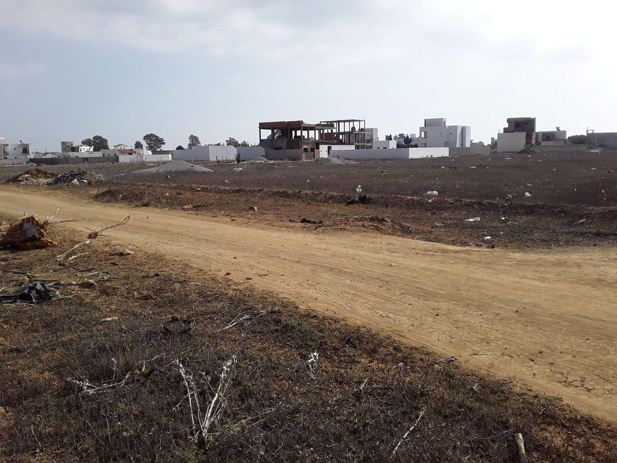 Terrain à vendre à hammamet sud très proche de yasmin hammamet