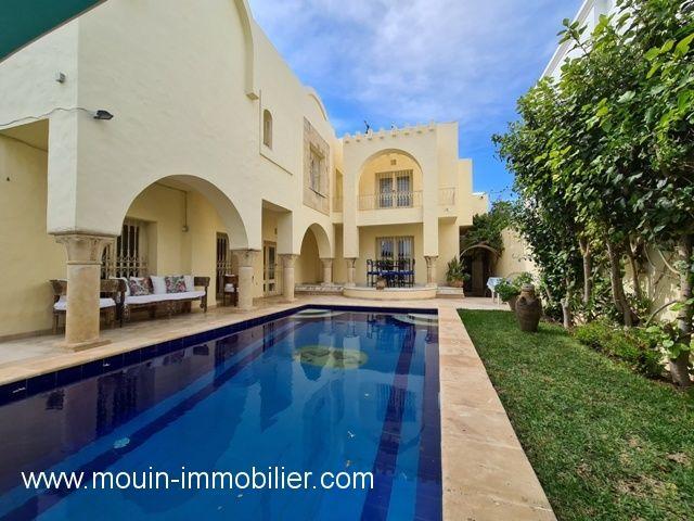 Villa warda wii al à hammamet nord