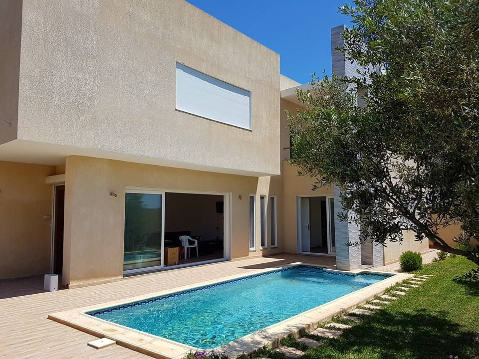 Villa moderne style contemporain à hammamet nord