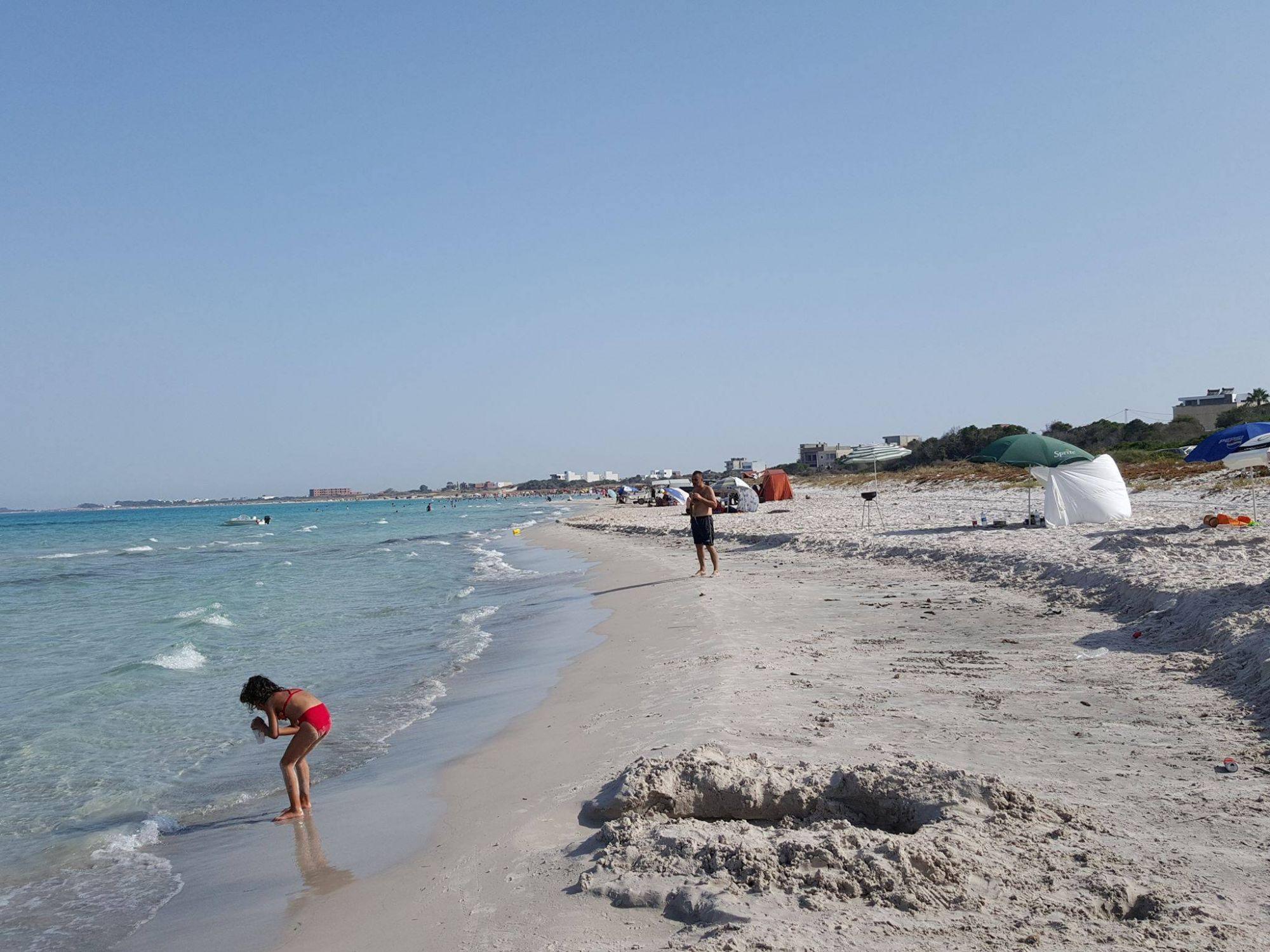Très proche de la plage terrain à hammam jebli