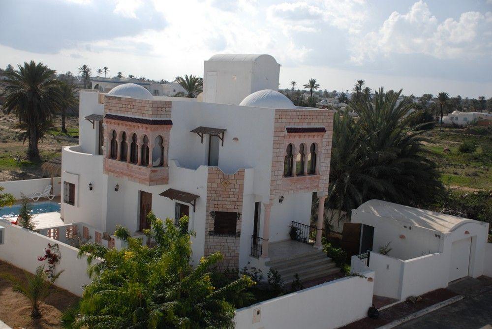 Vente villa djerba tunisie yasmina lot n 4 villa somaa for Architecture tunisienne maison