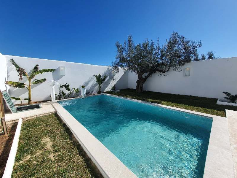 Villa kamy réference: villa avec piscine à hammamet