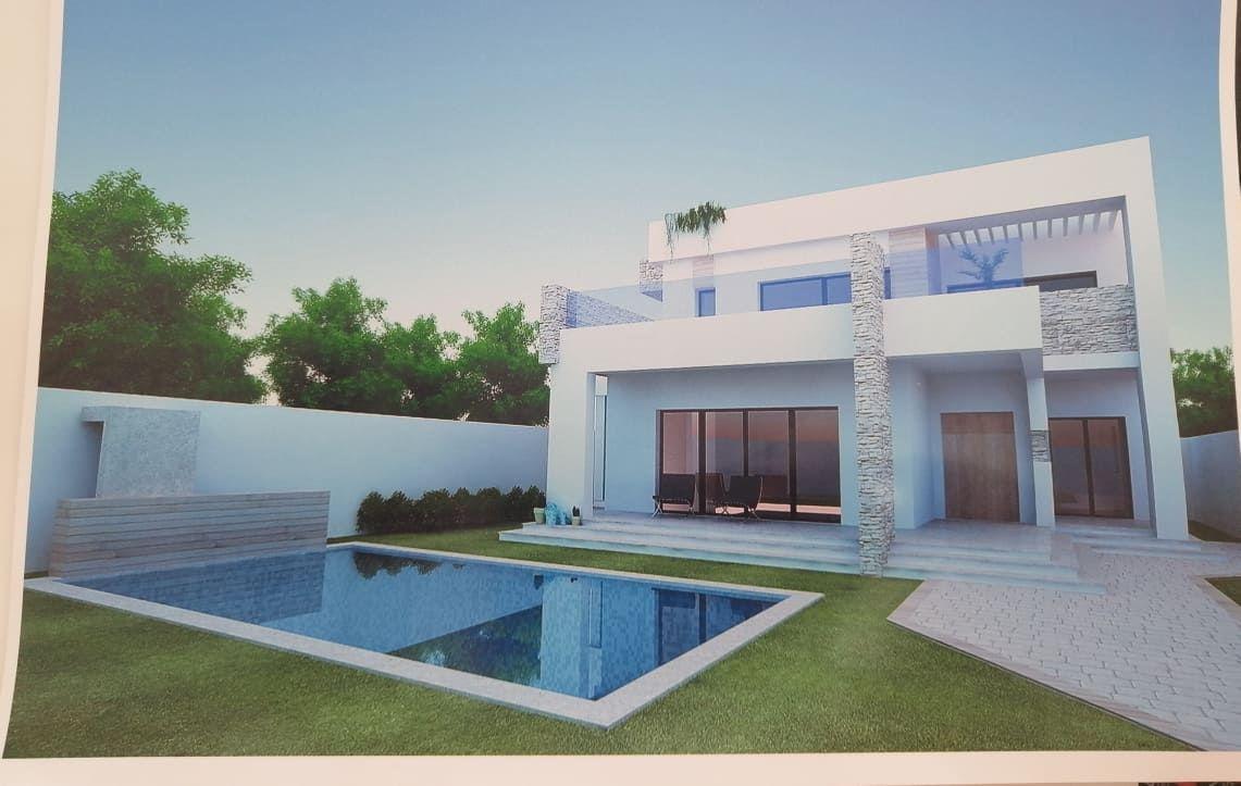 Une très belle villa vu mer en 3d av à hamammet nord b