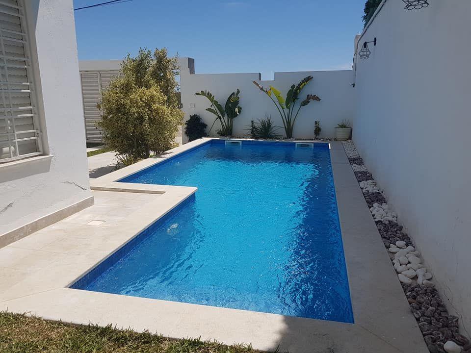 Villa s+4 avec piscine