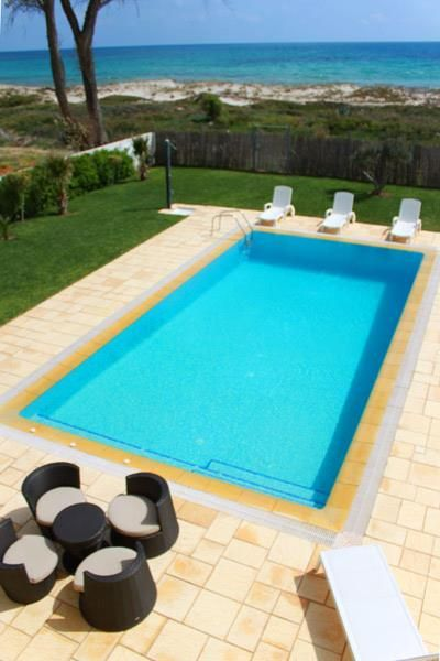 Villa l'olivierréf:  à beni khiar villa avec piscine