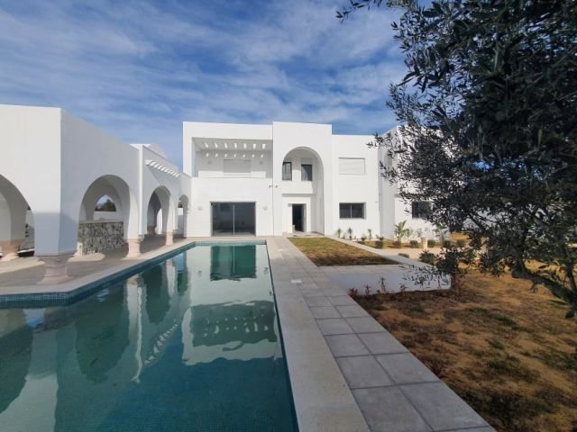 Villa chanel 2 réf:  villa avec piscine hammamet