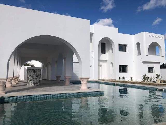 Villa l'acacia aii av à el monchar hammamet sud
