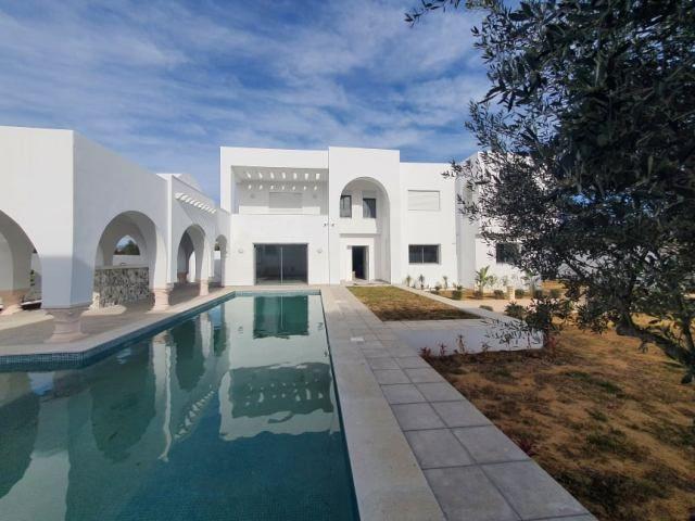 Villa chanel 2 réfe: villa avec piscine hammamet