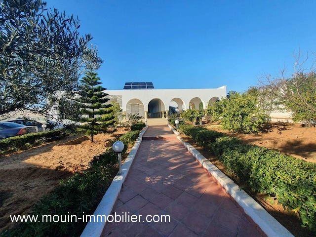 Villa odile ox av à hammamet entree el monchar