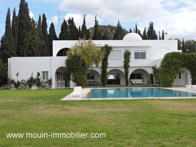 Villa la luxueuse iui hammamet  zone craxi a