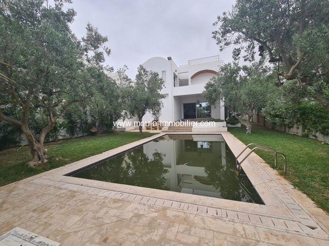 Villa essaada al à hammamet nord
