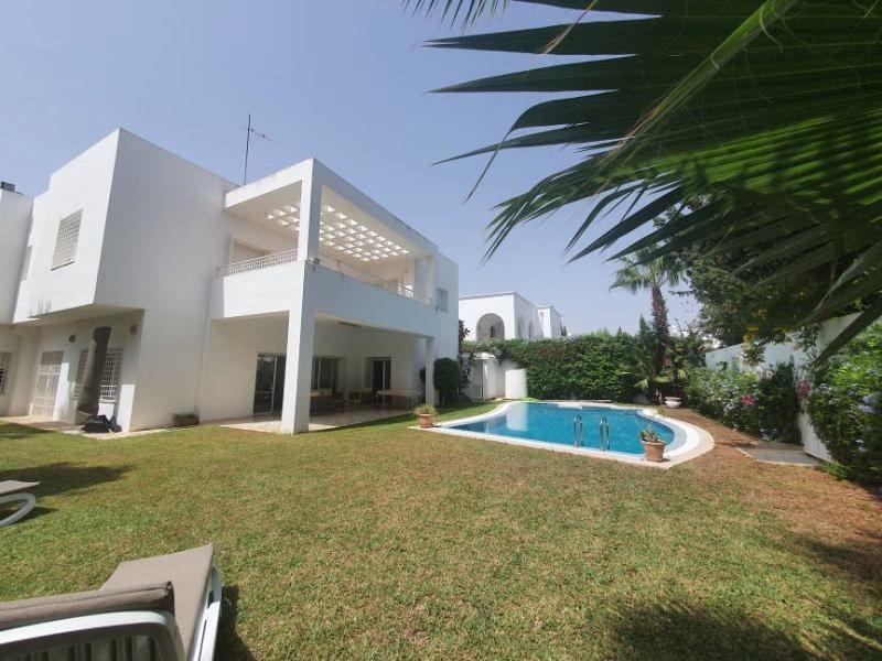 Villa algo réf:  villa à yasmine hammamet